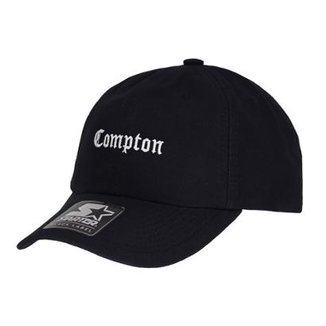 Boné Starter Aba Curva Strapback Compton Preto  Da 462c2e7fa30