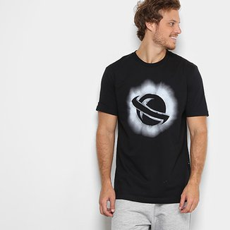 8ff0ae893 Camiseta Lost Básica Saturno Masculina