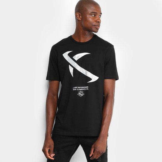 Camiseta Lost Eclipse Masculina - Preto - Compre Agora  c536657f86826