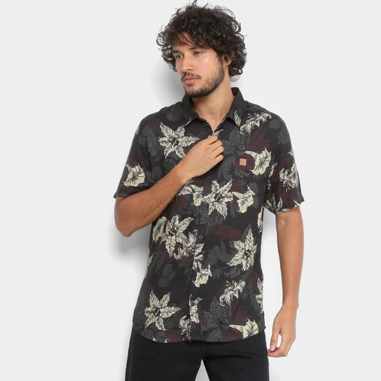 Camisa Lost Mc Hell Garden Masculina - Compre Agora  f39cf1ac398