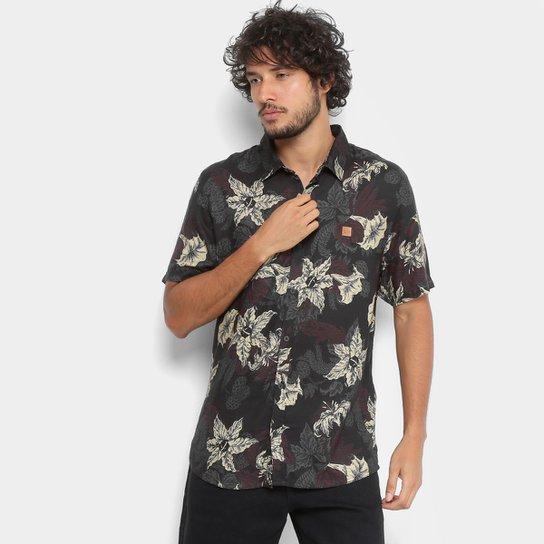 Camisa Lost Mc Hell Garden Masculina - Compre Agora  f39cf1ac398