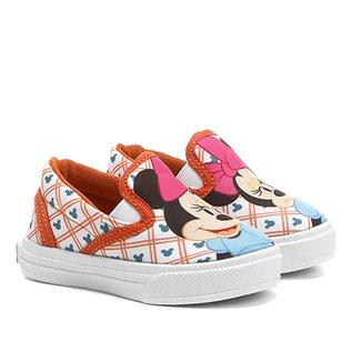 96f2ed3511 Tênis Disney Iate Minnie Menina Infantil