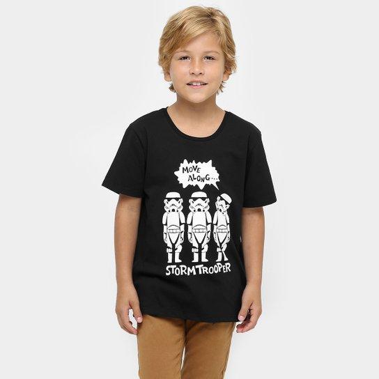 ac8dbdd79d Camiseta Disney Star Wars Infantil - Compre Agora