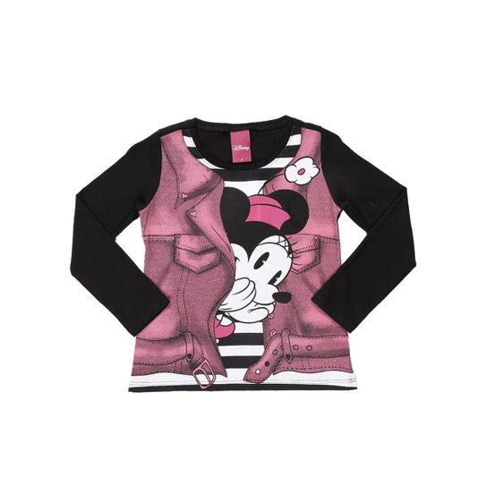 8aac81af48 Camiseta Manga Longa Infantil Disney Feminina - Compre Agora