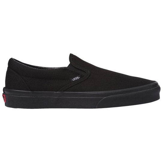 7ea8231bb74 Tênis Vans Classic Slip On Masculino - Preto - Compre Agora