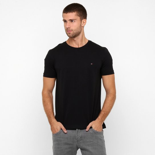 0a318e3a979f4 Camiseta Tommy Hilfiger Básica - Compre Agora   Zattini