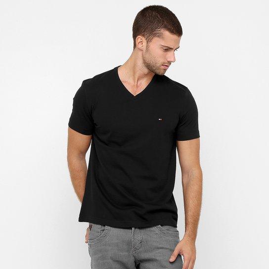 da16d0307d833 Camiseta Tommy Hilfiger Gola V Básica - Compre Agora   Zattini