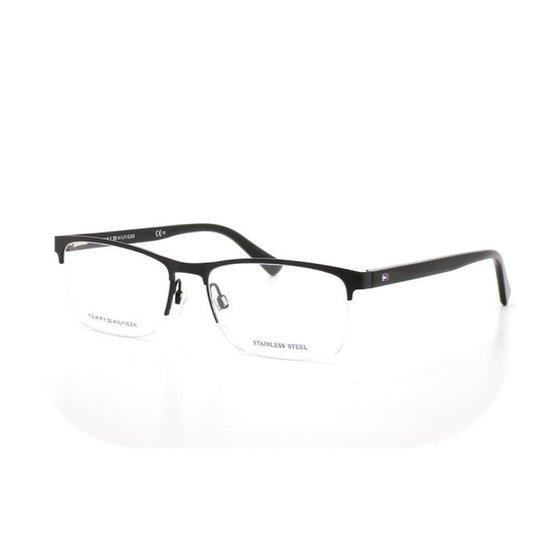 9f9daedd2 Armação De Óculos De Grau Tommy Hilfiger 1528 T 56 C 003   Zattini