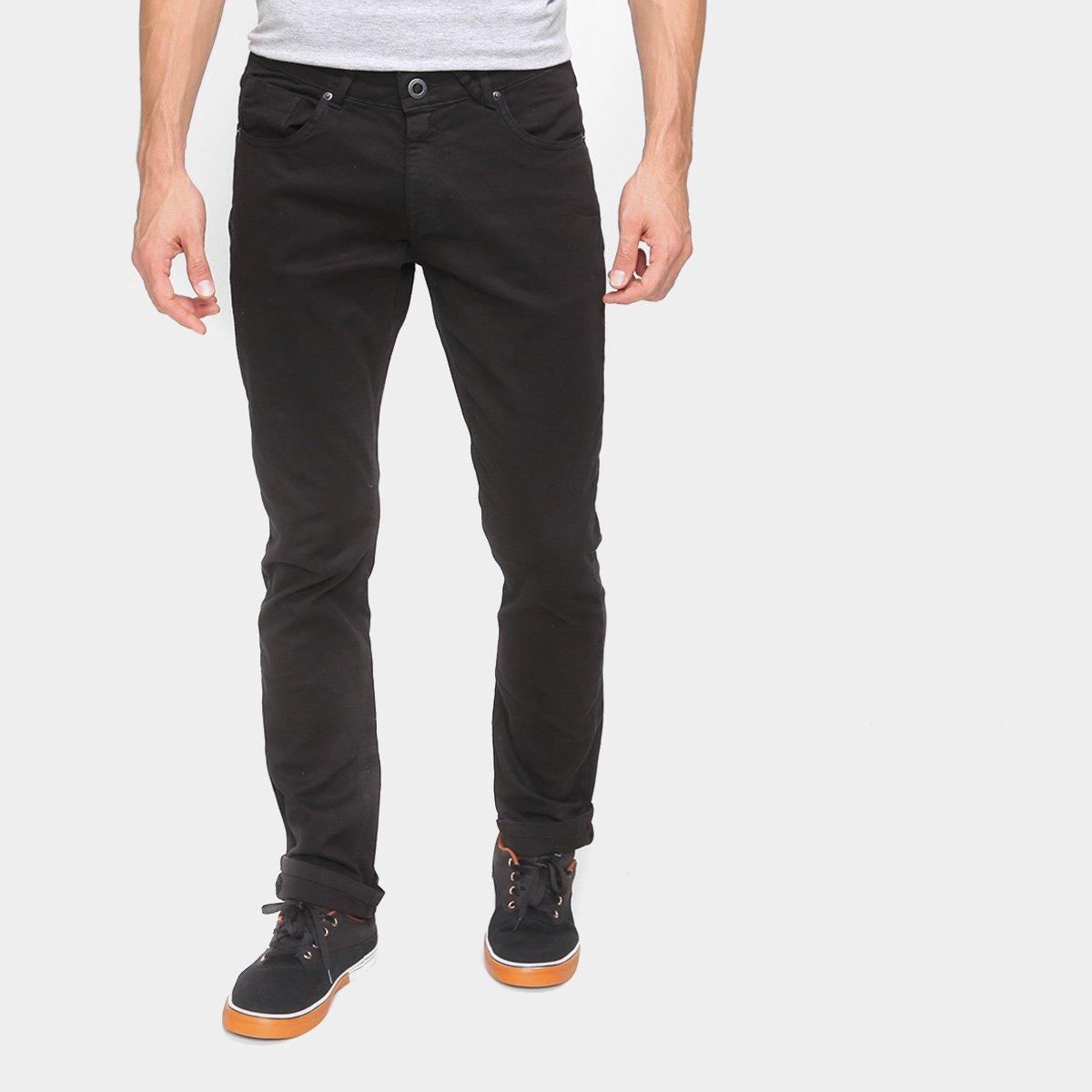 Calça Jeans Slim Volcom Vorta Masculina