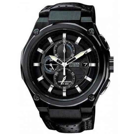 743c2b47069 Relógio Masculino Citizen Eco-Drive TZ30213J Couro - Compre Agora ...