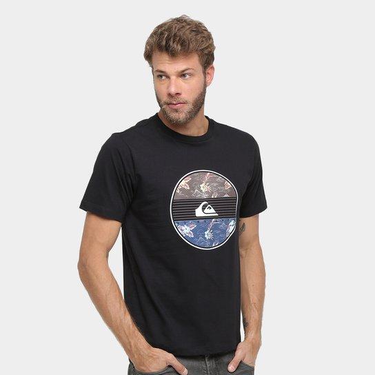 Camiseta Quiksilver Básica Fresh Masculina - Preto - Compre Agora ... 6f48f62818