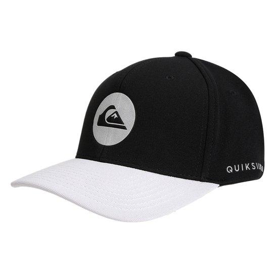 33dec0b30348f Boné Quiksilver Aba Curva Refletive Logo Masculino - Compre Agora ...