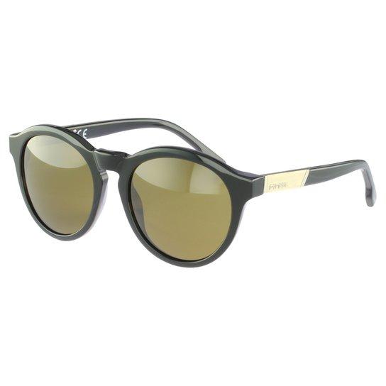 Óculos de Sol Diesel Casual Preto - Compre Agora   Zattini ff9f7cd3ca