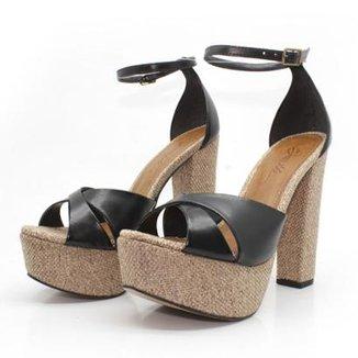 5b93d46b8 Sandálias Barth Shoes Preto Tamanho 39 - Calçados | Zattini