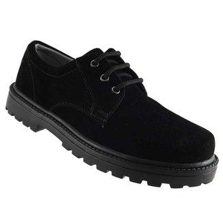 061601988f Sapato Sekall Camurça Cadarço.