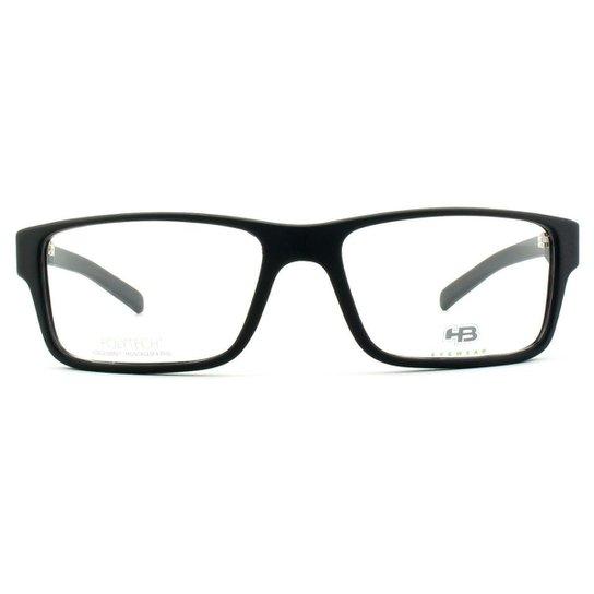 a4e667f4d Óculos de Grau HB Polytech Masculino - Preto   Zattini
