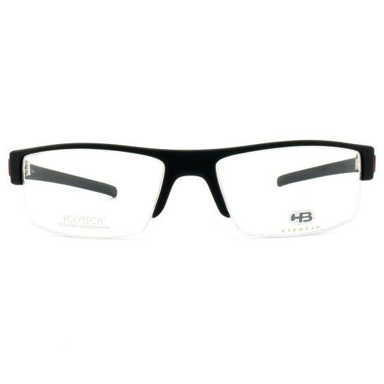 7721fcdce7df8 Armação de Óculos de Grau HB Polytech 93101 70133 57 - Compre Agora ...