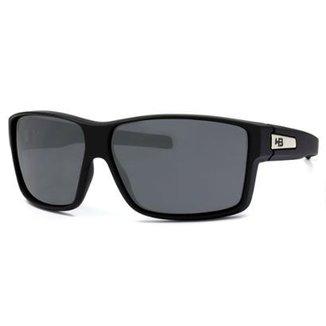 Óculos de Sol HB Big Vert Matte Black Lenses Grey be4416f471