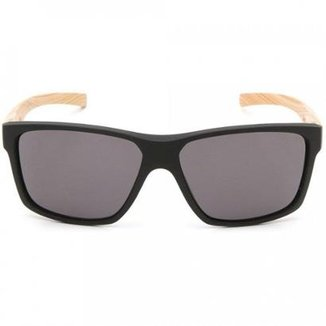 485d1a687aa04 Óculos de Sol HB Freak Matte Lenses Black Wood Gray