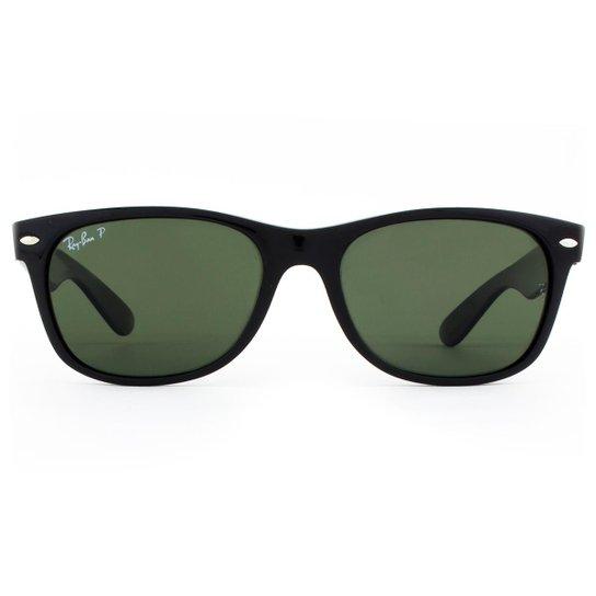 Óculos de Sol Ray Ban New Wayfarer Classic Polarizado RB2132LL 901 58-55  Masculino f43d1c2497