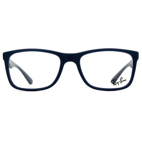 Óculos de Grau Ray Ban RX7027L 5412-54 Masculino - Preto - Compre ... d8e3f9b840