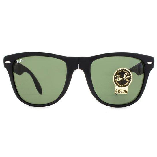 cbadc33e8234c Óculos Ray Ban Wayfarer Folding Dobrável RB4105 601S-54 - Compre ...