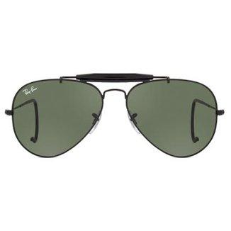 43ffa2f05 Óculos de Sol Ray Ban Outdoorsman RB3030 L9500-58