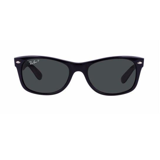 da5fe5dfde681 Óculos de Sol Ray Ban New Wayfarer Polarizado RB2132LL 901 58 - Preto