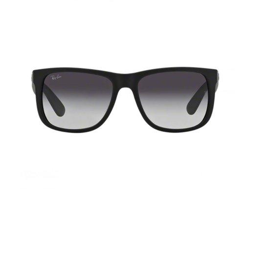 Óculos de Sol Ray Ban Justin RB4165L 601 8G - Preto - Compre Agora ... 61d220007f