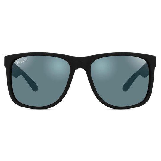 c61749acc Óculos de Sol Ray Ban Justin Polarizado RB4165L 622/T3 - Preto | Zattini