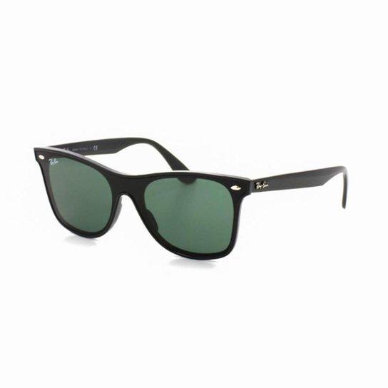Óculos De Sol Ray Ban 4440-N T 41 C 601 71 Wayfarer - Preto - Compre ... 086d3b6a81