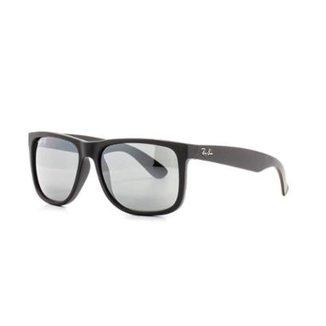 9f461499b Óculos de Sol Ray Ban Justin Quadrado Dia a Dia Masculino