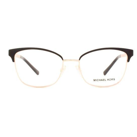 Armação Óculos de Grau Michael Kors Adrianna IV MK3012 1113-51 - Preto 8e264e2072