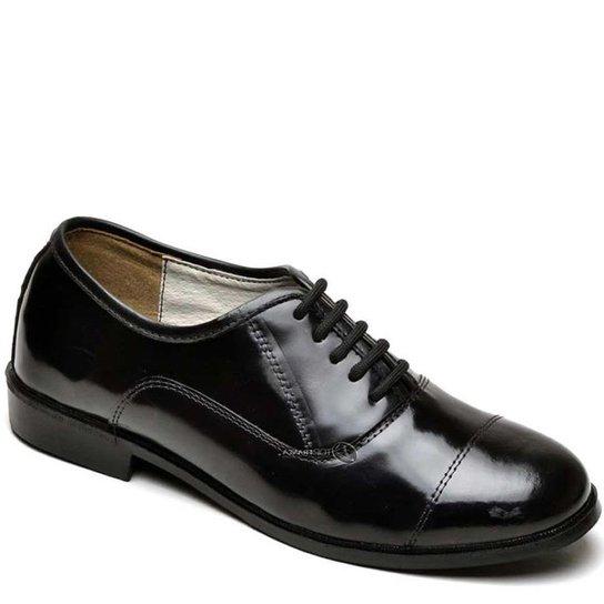 7e03f40d3f Sapato Social Top Franca Shoes - Preto
