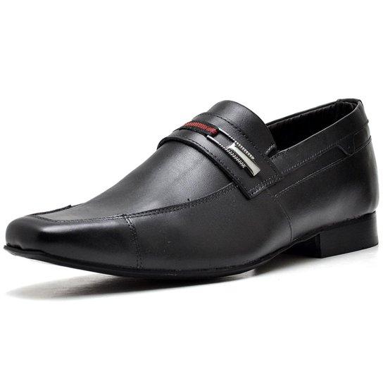 4adeca0c16 Sapato Executivo Top Franca Shoes Masculino - Preto - Compre Agora ...