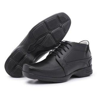 Sapato Conforto Couro Top Franca Shoes Masculino 7ad8c124d1e2a