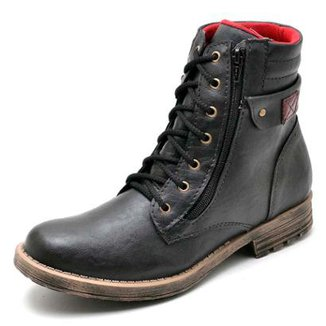 cd61845b68 Bota Coturno Top Franca Shoes Masculino