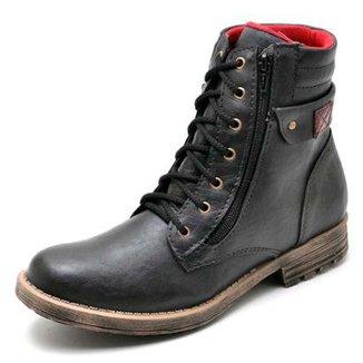 cd61845b68 Bota Coturno Top Franca Shoes Masculino