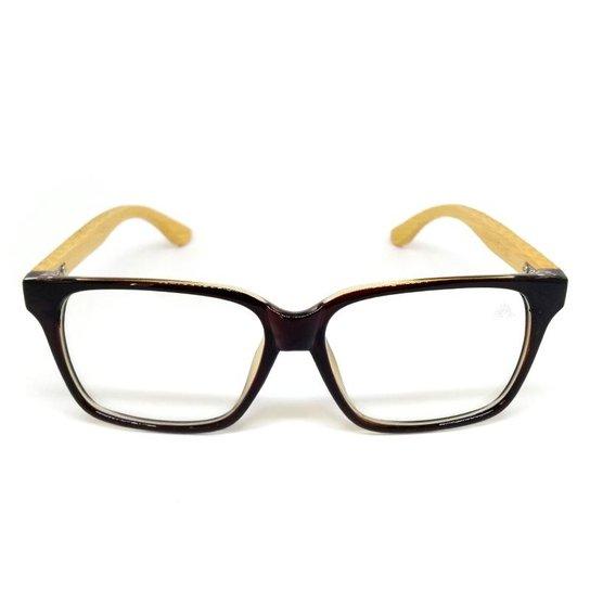 2878731c9e1b8 Óculos Cayo Blanco de Grau Bamboo Special Line - Compre Agora   Zattini