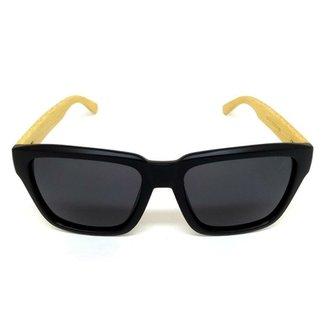 cdef75c2b0475 Óculos Cayo Blanco de Sol Bamboo Special Line Masculino