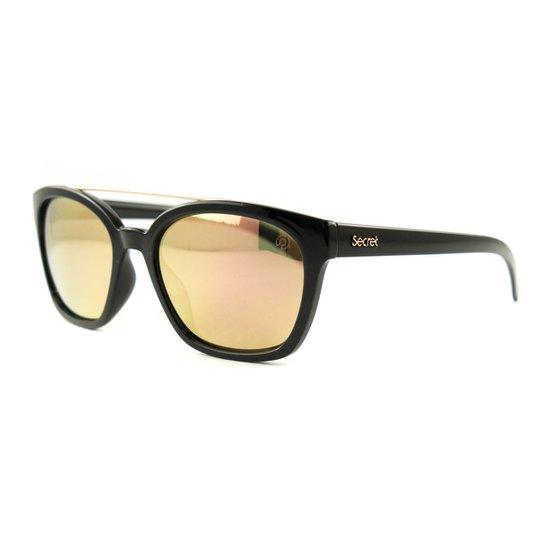 5aadacdc17e14 Óculos de Sol Secret Debbie Polarizado - Preto - Compre Agora   Zattini