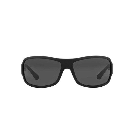 c00686abd7eda Óculos de Sol Emporio Armani Retângular EA4012 Masculino - Compre ...