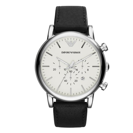 9e094b1200c75 Relógio Emporio Armani Analógico AR1807 0BN Masculino - Compre Agora ...