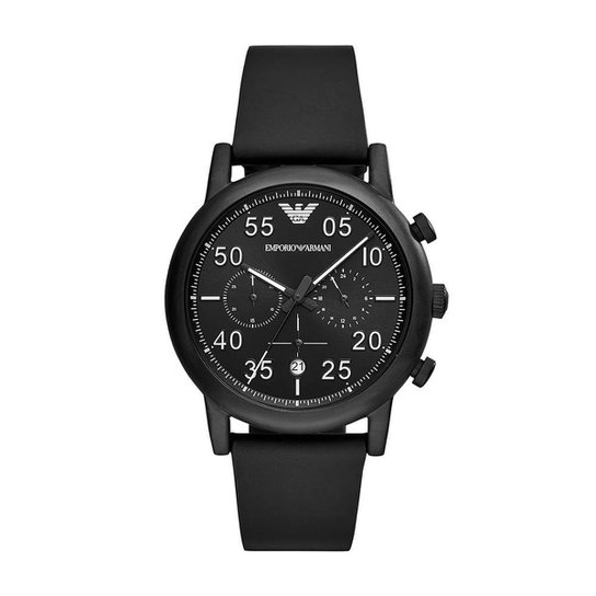 e6a00997431bd Relógio Empório Armani Masculino Luigi - AR11133 0PN AR11133 0PN - Preto