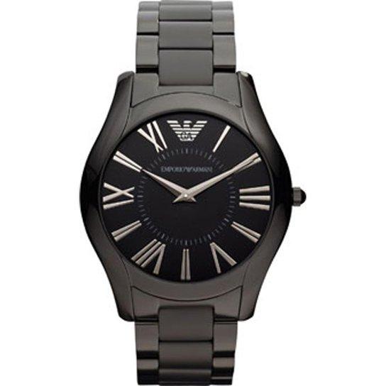 61fcdeca6e3a6 Relógio Emporio Armani Masculino Preto - HAR2065 Z HAR2065 Z - Preto