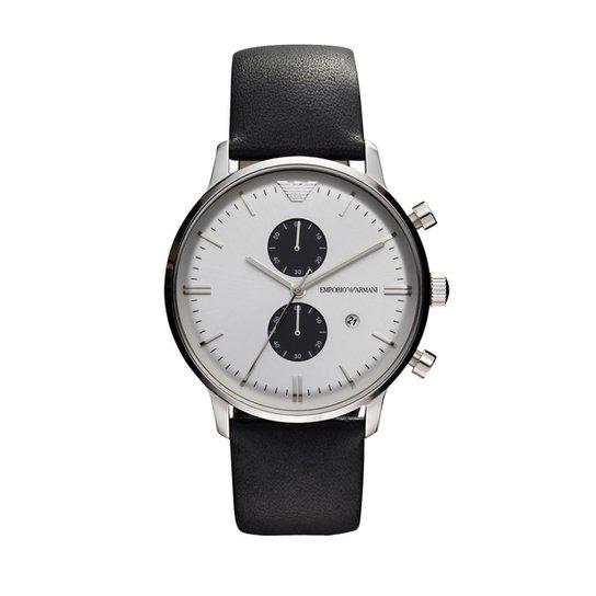 3c635a6779976 Relógio Emporio Armani Masculino Preto - HAR0385 Z HAR0385 Z - Preto