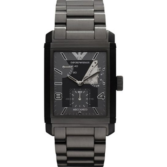 0d658d5821f91 Relógio Emporio Armani Masculino Preto - HAR4242 Z HAR4242 Z - Preto