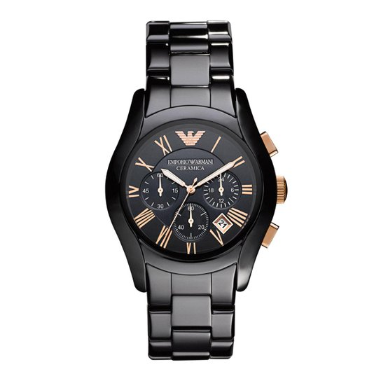 42ba58167 Relógio Emporio Armani Masculino - HAR1410/Z HAR1410/Z - Preto ...