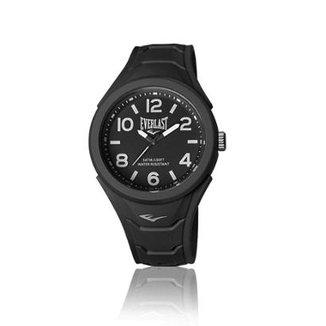 Relógio Pulso Everlast Shape Caixa Abs Revestido Silicone d4d254e9f68