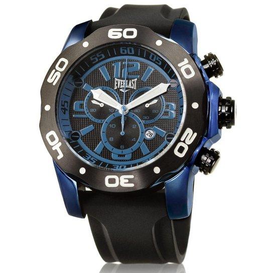 4a6c5a7016d Relógio Pulso Everlast Analógico E429 Masculino - Preto - Compre ...